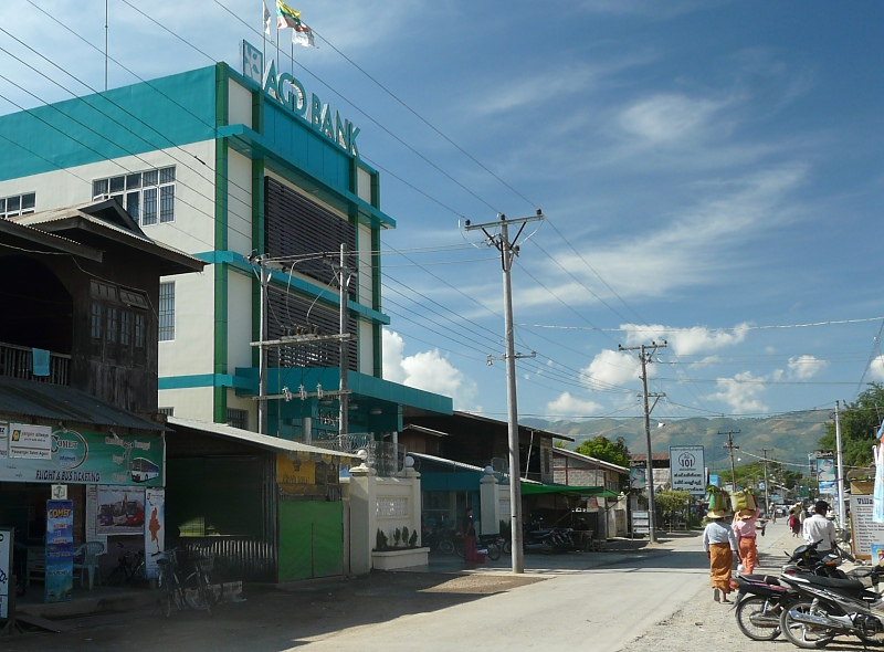 AGD bank in NyaungShwe