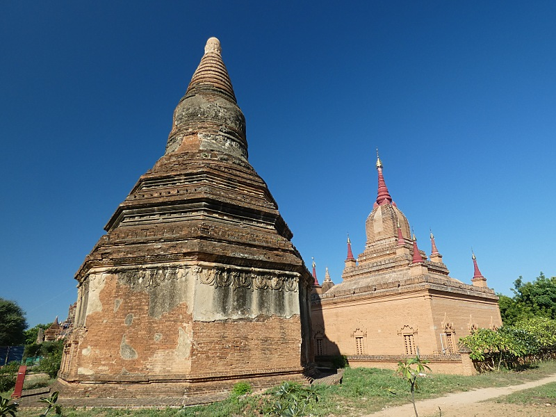 Bagan temples compared